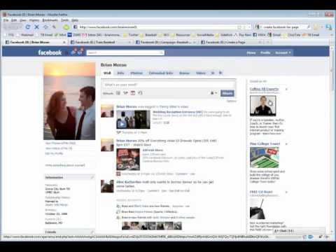 Fan Page Tutorial - How To Create a Facebook Business Fan Page