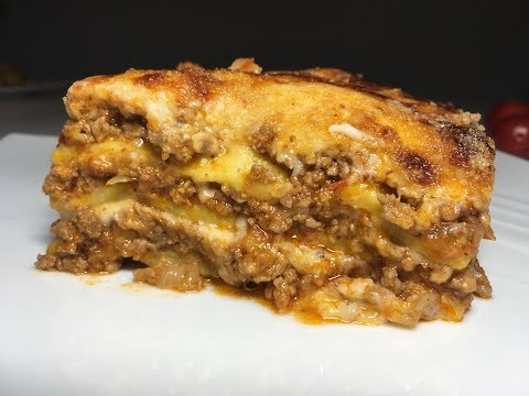 Amazing Lasagna with Homemade Lasagna Sheets