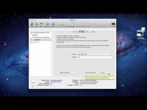How To Format a USB drive on Mac
