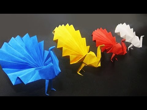 Peacock - How To Make An Origami Peacock | Easy And Simple Steps |