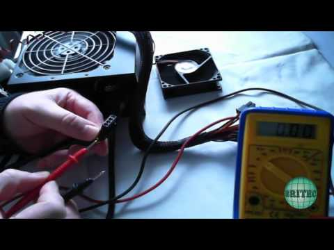 Manually Test a (PSU) Power Supply With a Multimeter by Britec
