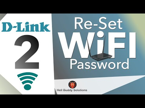 Set up Router (D-link) Wi-Fi password Part 2 -- Set up New Network & Wi-Fi password