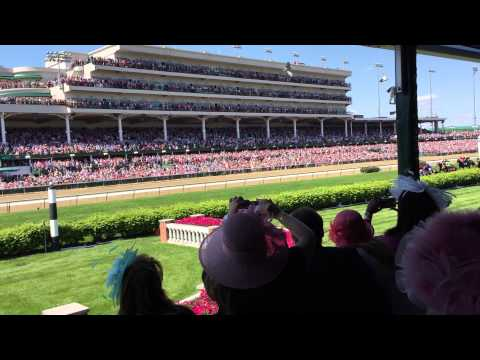 Kentucky Oaks from the Amex Turf Suite
