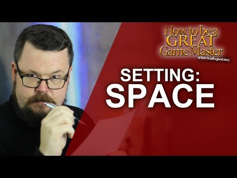 Great GM: How to run a Sci Fi setting in your roleplaying game - Game Master Tips