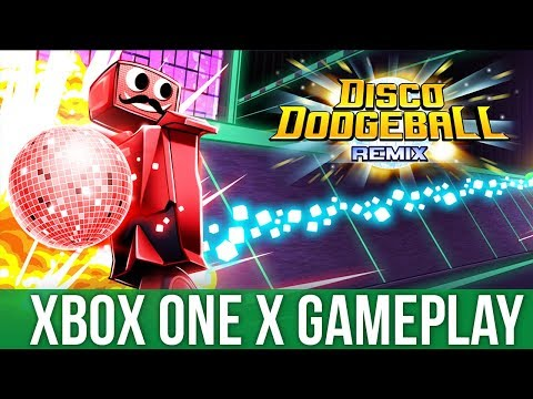 Disco Dodgeball Remix - Xbox One X Gameplay (Gameplay / Preview)