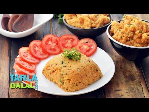 Tomato Upma, South Indian Breakfast by Tarla Dalal