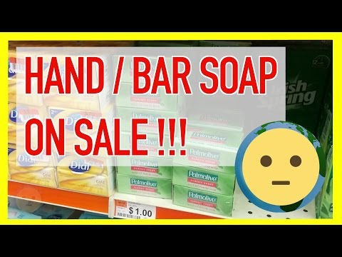 Bath Bar Soap & Hand Soaps on Sale From Dial and Ivory to Fancy Oatmeal + Lavender Bars | MySuLonE