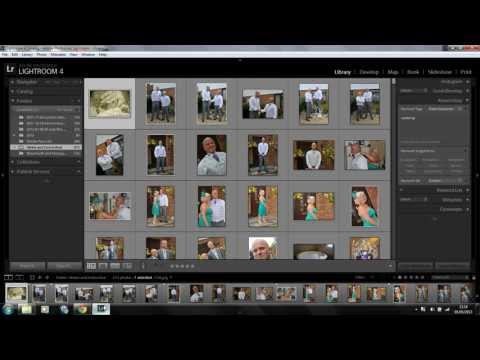 Lightroom 4 : Selecting your photos