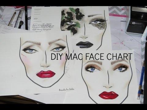 DIY Printable MAC Face Charts! (Part One)