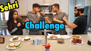COOKING SEHRI CHALLENGE **RAMADAN SPECIAL**