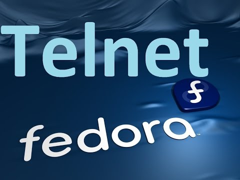 Configuration de Telnet sur Linux (fedora)