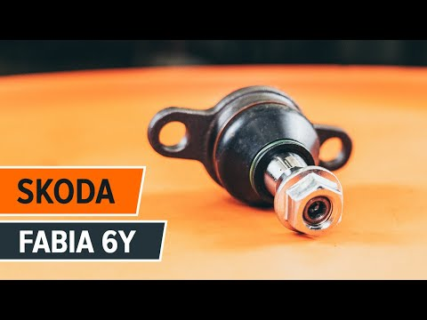 How to change a ball joint SKODA FABIA 6Y TUTORIAL   AUTODOC