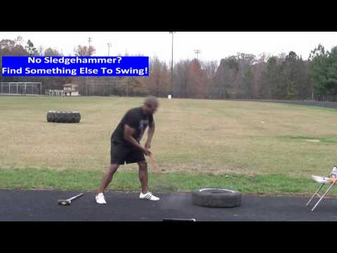 How to Do a Sledgehammer Workout To Burn Fat Faster