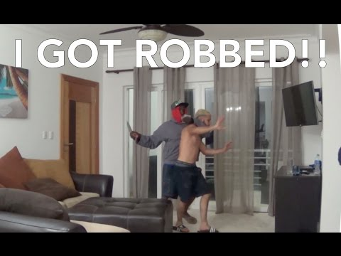 I GOT ROBBED!!!!!!!