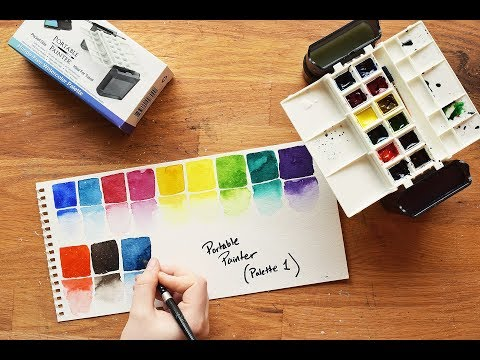 Cool New Watercolor Product Alert ~ The Portable Painter