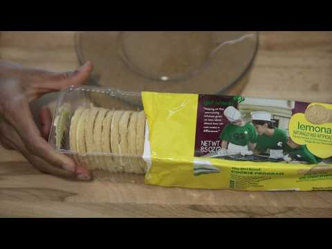 Food Review: Lemonades Cookie - Girl's Scout Cookie