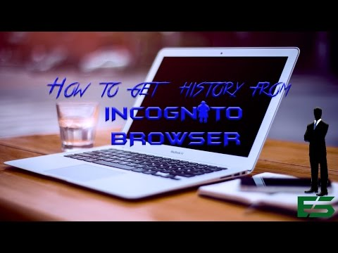 How to get history from incognito browser