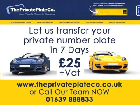 How to transfer private number plate vehicle to vehicle 2016