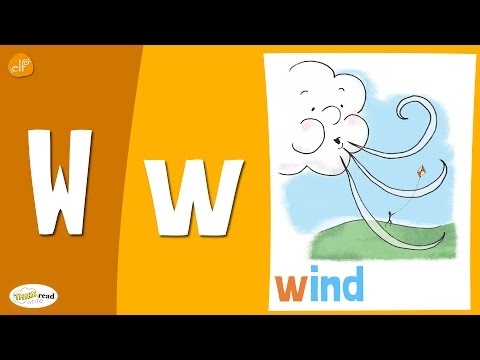 Letter W Practice - Phonics and Vocabulary - Think Read Write - Fun Kids Learning