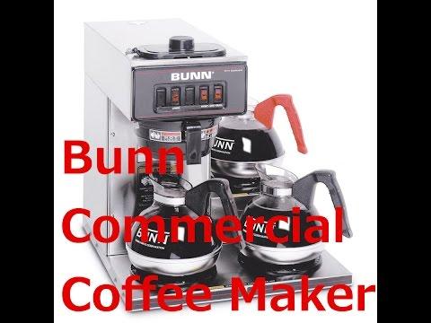 Bunn Pourover Commercial Coffee Maker | Honest Bunn Commercial Coffee Maker Review