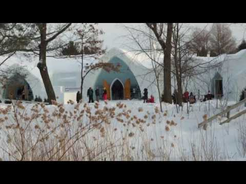 TRIP TO THE ICE HOTEL, QUEBEC