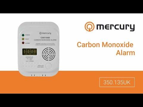 350.135UK - Mercury Carbon Monoxide Alarm