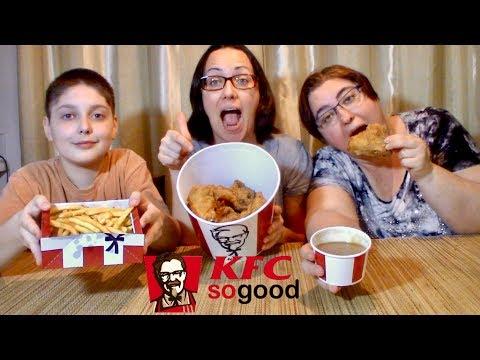 KFC Fried Chicken | Gay Family Mukbang (먹방) - Eating Show