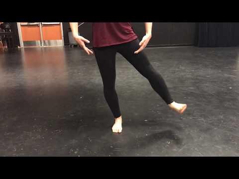 SOTA Modern Dance - Tendue Sequence