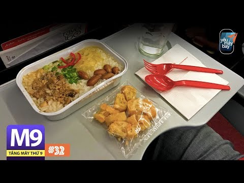 [M9] #32: Bay AirAsia đi Maldives, ăn cháo sò điệp trên máy bay   Yêu Máy Bay