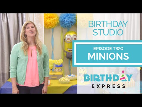Throw a DIY Minions Birthday Party with Birthday Express