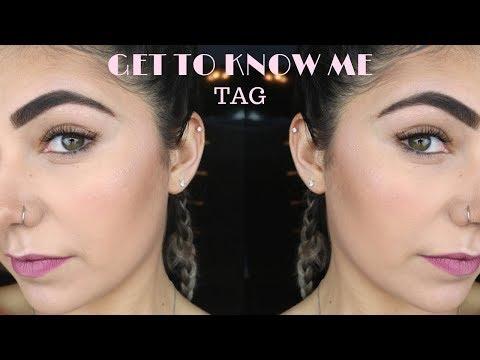 Get To Know Me TAG 2018 | Noursbeautycircle