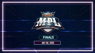 LIVE: Mobile Legends: Bang Bang Professional League-Philippines Season 5   Finals   May 30, 2020