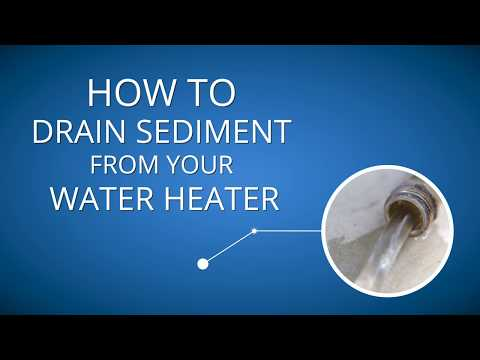 How to Drain Sediment from Your Water Heater