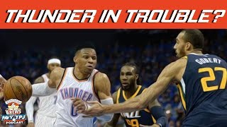 Are the OKC Thunder in Trouble ? | Hoops N Brews