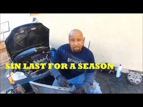 HOW 2 TAKE A RADIATOR APART, UNCLOG AND FIX IT YOURSELF & SOLVE YOUR OVERHEATING PROBLEM