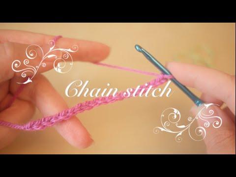 Crochet basics: Chain stitch & Foundation chain   Bella Coco