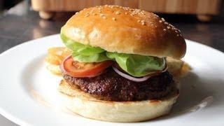 Hamburger Buns - How to Make Homemade Burger Buns