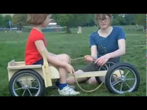 The Wooden Go Cart