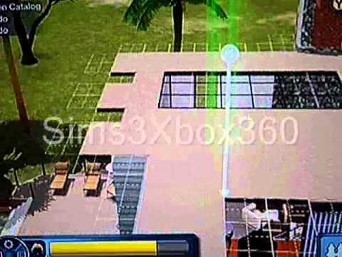 Sims 3 (Xbox 360) - Skylight Tutorial