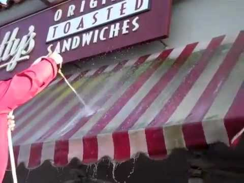 Awning Cleaning by J&J Window Cleaning Services