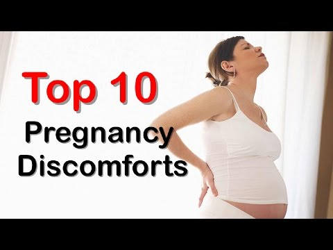 Top 10 Common Pregnancy Discomforts and How to Deal with Them At Home