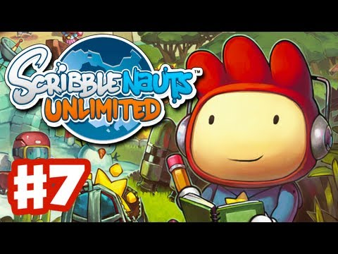 Scribblenauts Unlimited - Gameplay Walkthrough Part 7 - Under Line (PC, Wii U, 3DS)