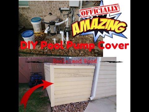 DIY Pool Pump Cover /AC Cover