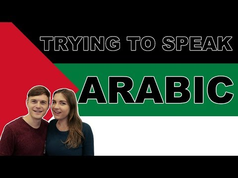 SPEAKING ARABIC! Arabic Language Challenge!