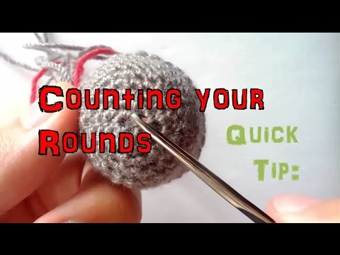 How to Crochet in the Round: Counting your Rounds Accurately