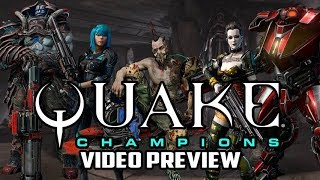 Quake Champions Beta PC Game Preview