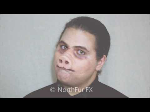 Foam Latex Pig Nose Prosthetic Mask