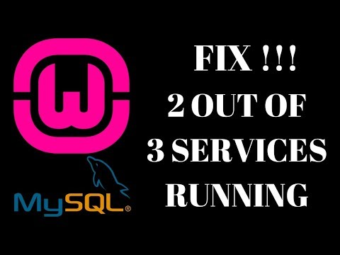 Access denied for user 'root'@'localhost'(using password: NO)|wampserver 2 out of 3 services running