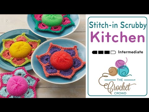How to Crochet A Scrubby: Posey