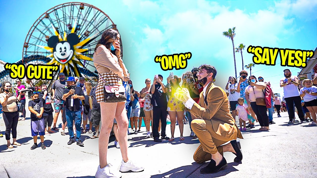 I Proposed to my Girlfriend in Public & She Said No.. (GONE WRONG)
